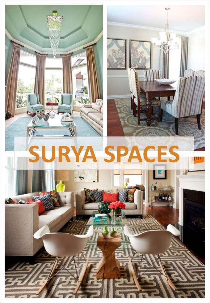surya is inviting its customers to submit photos of their best design projects featuring surya rugs and accessories for the chance to win up to