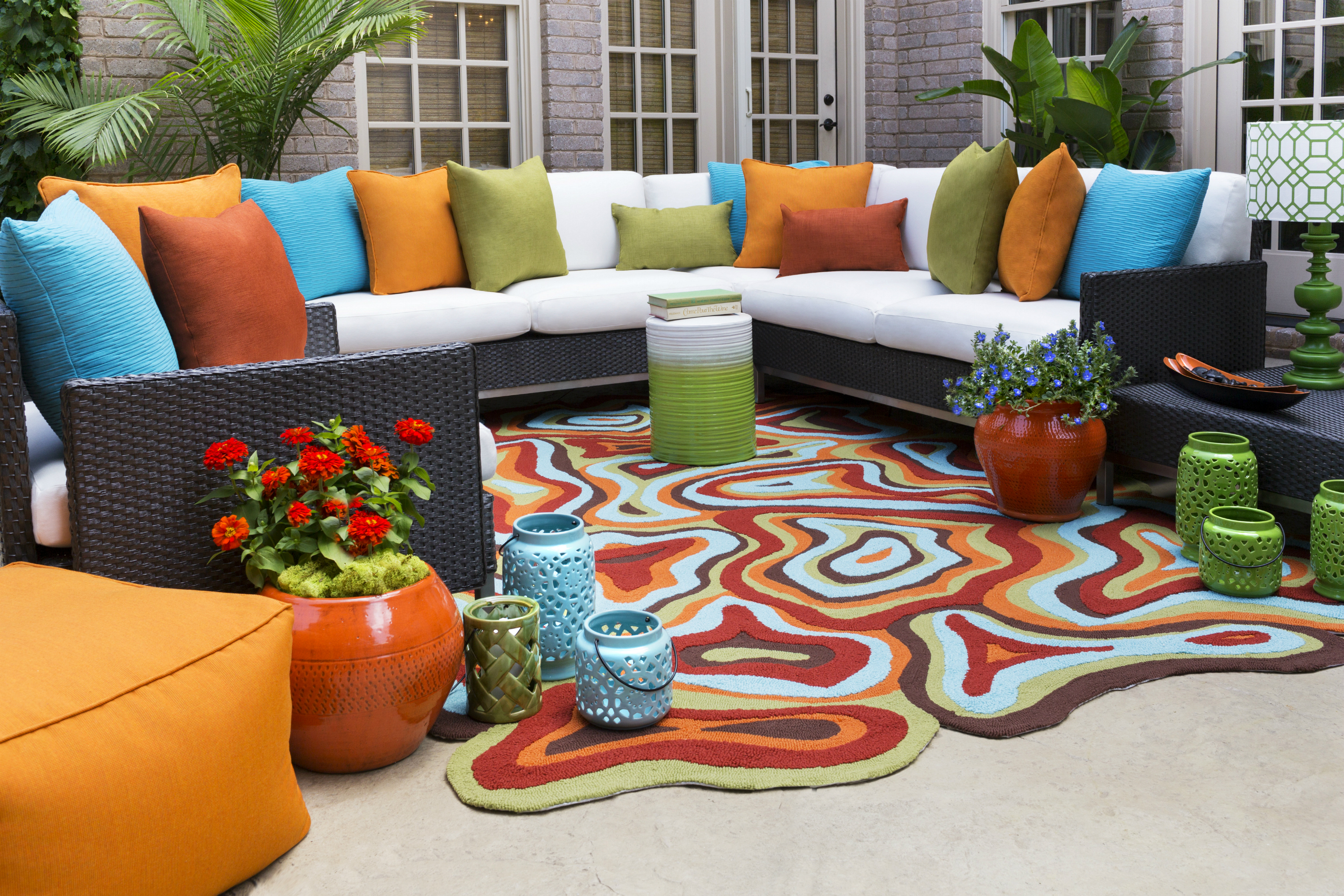 Colorful Outdoor Rugs Rugs Ideas
