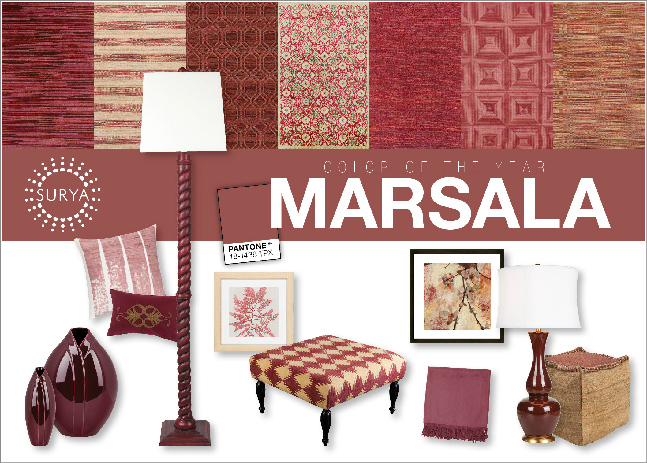 Surya To Spotlight All Things Marsala At Winter Markets 12 05 14